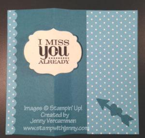 Stampin' Up! Label Thinlit Hi Card