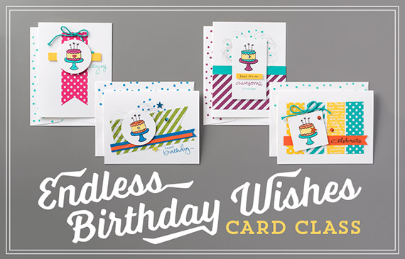 Endless Birthday Wishes Card Class