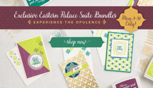 Shop Now Stampin' Up! Eastern Palace Suite