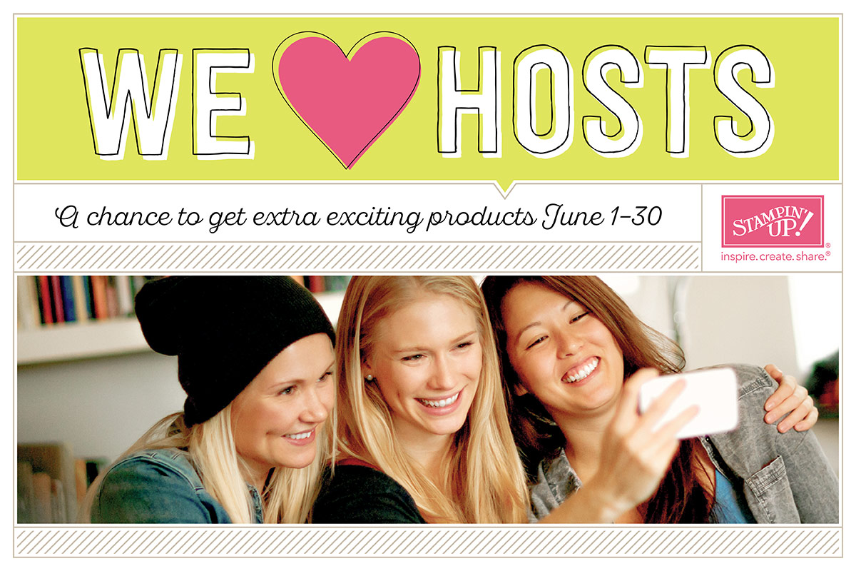 Would you like free Stampin' Up! products?