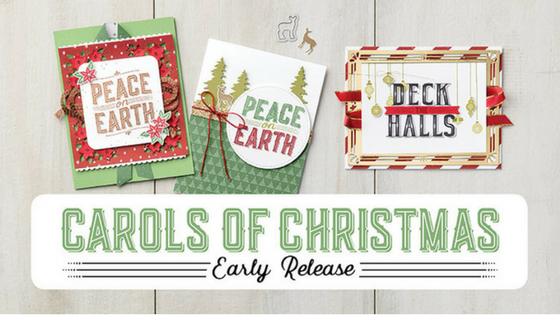 Stampin' Up! Carols of Christmas Early Release