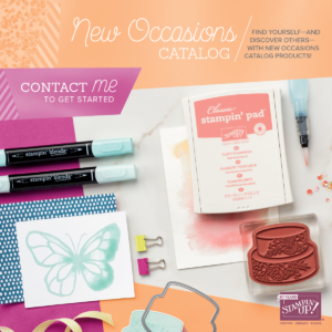 Stampin' Up! New 2018 Occasions Catalog